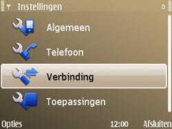 Nokia E72 - Internet - handmatig instellen - Stap 5