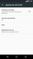 Motorola Moto G 3rd Gen. (2015) (XT1541) - Red - Seleccionar el tipo de red - Paso 6