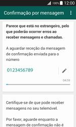 Samsung Galaxy J1 - Aplicações - Como configurar o WhatsApp -  8