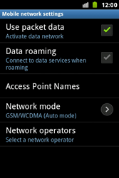 Samsung S7500 Galaxy Ace Plus - Internet - Enable or disable - Step 6