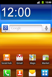 Samsung S5690 Galaxy Xcover - Netwerk - Gebruik in het buitenland - Stap 1