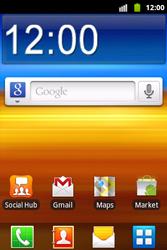 Samsung S5690 Galaxy Xcover - Mms - Handmatig instellen - Stap 1