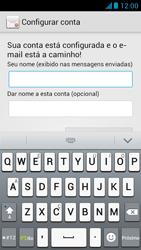 Huawei Ascend G510 - Email - Como configurar seu celular para receber e enviar e-mails - Etapa 18