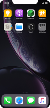 Apple iPhone XR - Contact, Appels, SMS/MMS - Ajouter un contact - Étape 3