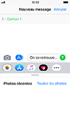 Apple iPhone 5s - iOS 12 - MMS - envoi d'images - Étape 8