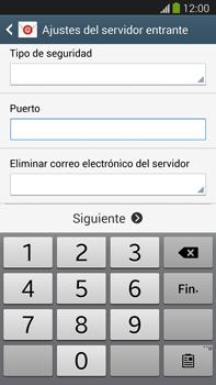 Samsung Galaxy Note 3 - E-mail - Configurar correo electrónico - Paso 10