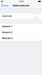 Apple iPhone 5s - iOS 12 - Network - Usage across the border - Step 6