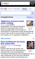 HTC A7272 Desire Z - Internet - Internetten - Stap 7