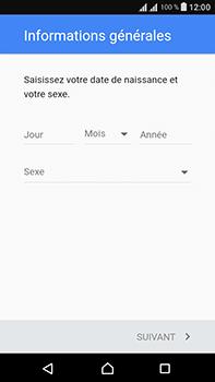 Sony Xperia L1 - Applications - Créer un compte - Étape 7
