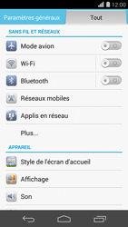 Huawei Ascend P7 - Internet - Utilisation à l