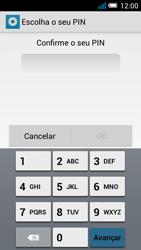 Alcatel POP C7 - Segurança - Como ativar o código de bloqueio do ecrã -  9