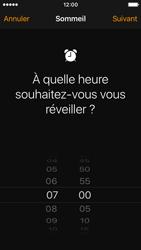 Apple iPhone SE - iOS 10 - iOS features - Coucher - Étape 5