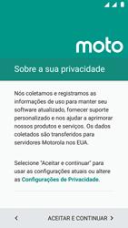 Motorola Moto G5 - Primeiros passos - Como ativar seu aparelho - Etapa 13