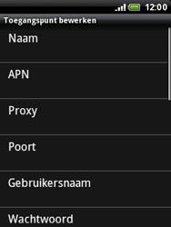 HTC A3333 Wildfire - Internet - Handmatig instellen - Stap 8