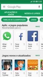 Samsung Galaxy S7 Edge - Android Nougat - Aplicações - Como pesquisar e instalar aplicações -  4