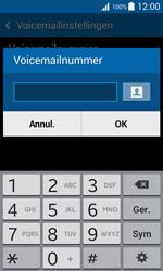 Samsung Galaxy Trend 2 Lite (SM-G318H) - Voicemail - Handmatig instellen - Stap 7