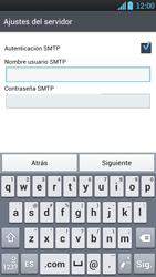LG Optimus L9 - E-mail - Configurar correo electrónico - Paso 12