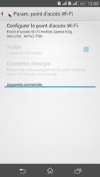 Sony Xperia E4g - Internet et connexion - Partager votre connexion en Wi-Fi - Étape 11