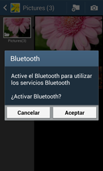 Samsung S7580 Galaxy Trend Plus - Bluetooth - Transferir archivos a través de Bluetooth - Paso 11