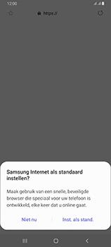 Samsung galaxy-a80-dual-sim-sm-a805fz - Internet - Hoe te internetten - Stap 4