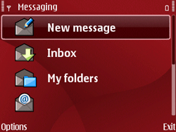 Nokia E63 - Email - Sending an email message - Step 5