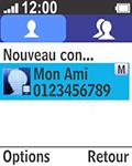 Bouygues Telecom Bc 211 - Contact, Appels, SMS/MMS - Ajouter un contact - Étape 8