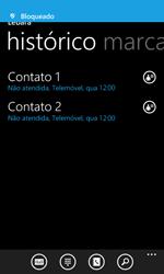 Microsoft Lumia 435 - Chamadas - Como bloquear chamadas de um número -  8