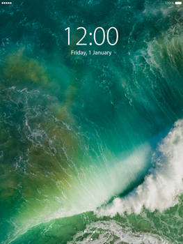 Apple iPad mini 4 iOS 10 - iOS features - Lock screen feature - Step 2