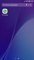 Samsung Galaxy A3 (2016) - Android Nougat - Aplicações - Como configurar o WhatsApp -  4