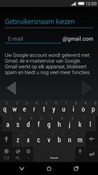 HTC Desire 816 4G (A5) - Applicaties - Account aanmaken - Stap 7