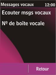 Nokia C2-03 - Messagerie vocale - configuration manuelle - Étape 6