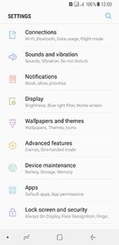 Samsung Galaxy A8 (2018) - Internet - Disable data roaming - Step 4