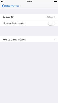 Apple iPhone 8 Plus - Red - Seleccionar el tipo de red - Paso 5