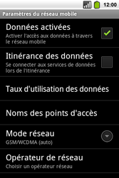 Alcatel OT-991 Smart - Internet - Configuration manuelle - Étape 7