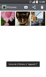 LG F70 - Photos, vidéos, musique - Envoyer une photo via Bluetooth - Étape 11