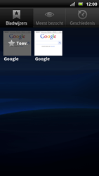 Sony Ericsson Xperia Neo - Internet - Hoe te internetten - Stap 7