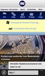 Nokia Lumia 620 - Internet - hoe te internetten - Stap 17