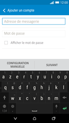 HTC One M8s - E-mail - Configuration manuelle - Étape 6