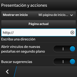 BlackBerry Q5 - Internet - Configurar Internet - Paso 20