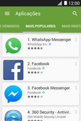 Samsung Galaxy Young II - Aplicações - Como pesquisar e instalar aplicações -  8