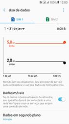 Samsung Galaxy J2 Prime - Rede móvel - Como definir um aviso e limite de uso de dados - Etapa 11