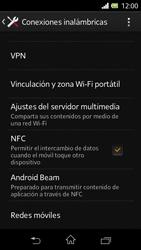 Sony Xperia L - Internet - Activar o desactivar la conexión de datos - Paso 5