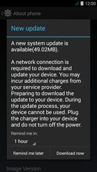 Acer Liquid Z410 - Network - Installing software updates - Step 8