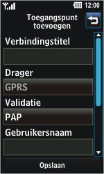LG GD510 Pop - MMS - handmatig instellen - Stap 6