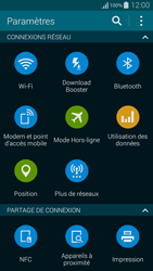 Samsung Galaxy Alpha - Internet et connexion - Désactiver la connexion Internet - Étape 4