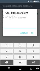 Sony Xperia XZ Premium - Sécuriser votre mobile - Personnaliser le code PIN de votre carte SIM - Étape 9