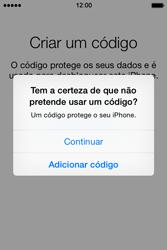 Apple iPhone 4S iOS 8 - Primeiros passos - Como ligar o telemóvel pela primeira vez -  19