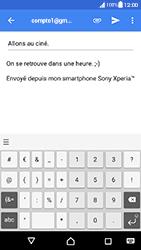 Sony Xperia XA - Android Nougat - E-mail - envoyer un e-mail - Étape 9
