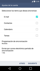 LG K10 4G - E-mail - Configurar Outlook.com - Paso 8