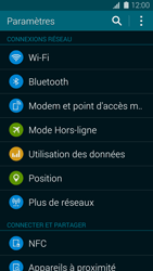 Samsung Galaxy S5 mini - WiFi et Bluetooth - Configuration manuelle - Étape 4